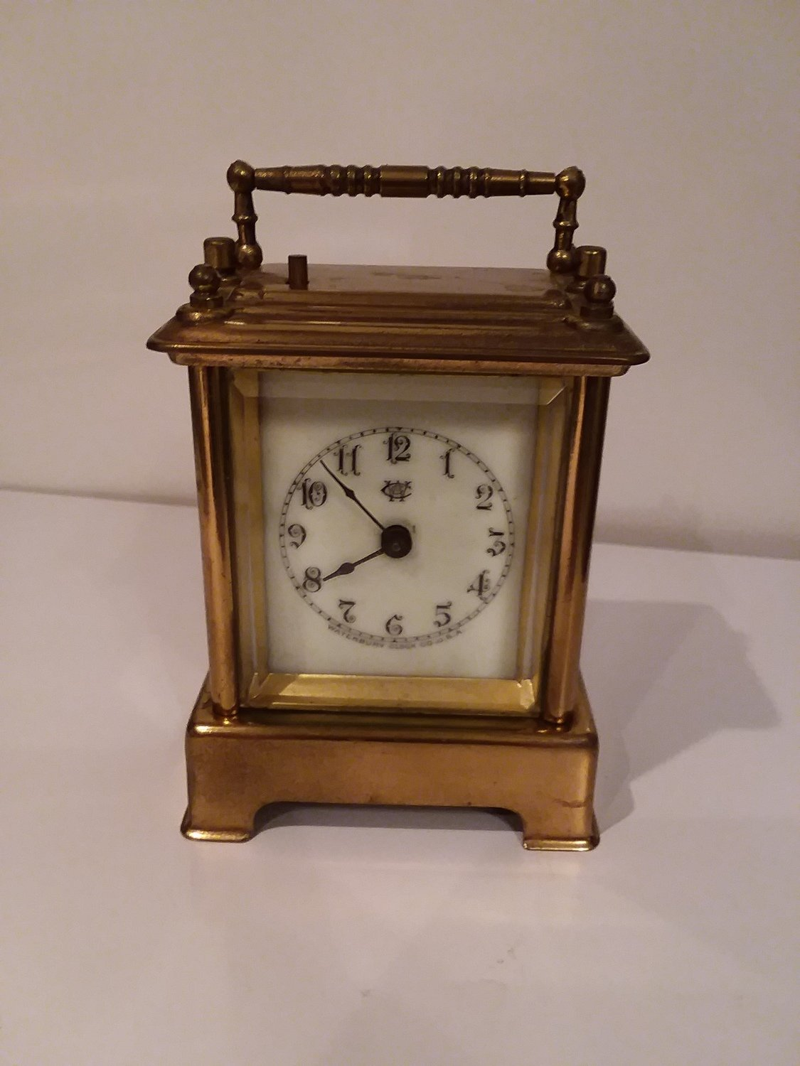 Waterbury mini Cariage Clock