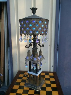 Lamp of gypsy queen