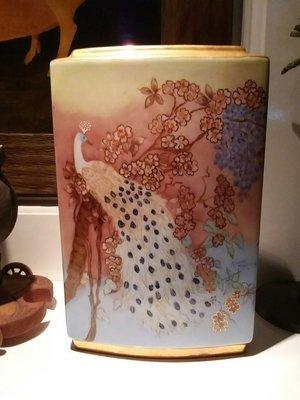 Bavarian porcelain vase