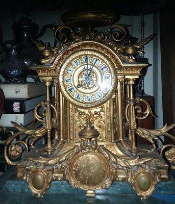 Bronze Tiffany and Company Clock