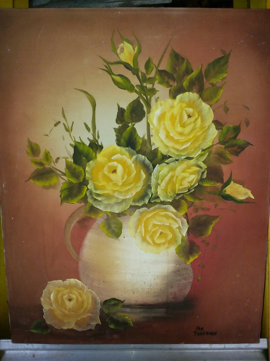 pam Sarkissian Oil Painting