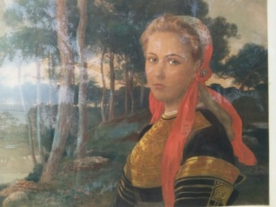 Elisabeth Sonrel Oil Painting