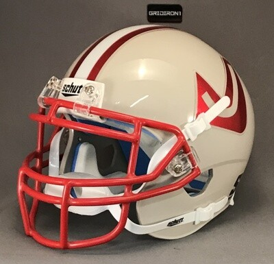 Judson Rockets HS (TX) 2018-2019 Chrome Decals (mini-helmet)
