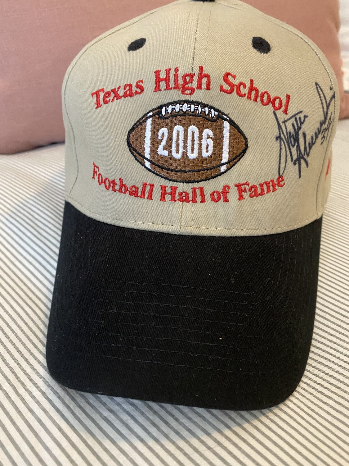 Walter Abercrombie - Signed Hat 2006 Hall of Fame Inductee