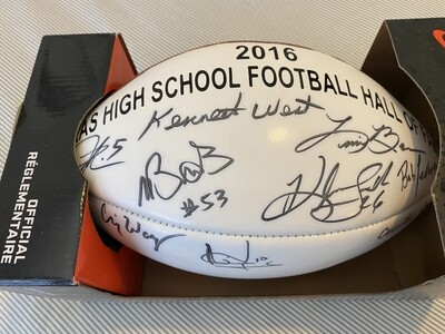 Nike Vapor Elite Football - Signed by all 2016 Hall of Fame Inductees