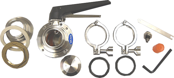 AK3-Combo Bulkhead Accessory Kit 1.5 in. (Includes BH3, BV3 and SV3)
