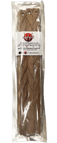 French Oak Medium Toast Stave  (Designed to use with our EM30/EH30 tanks)