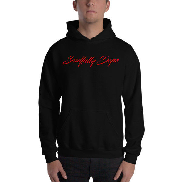 Soulfully Dope red Edition Unisex Heavy Blend Hooded Sweatshirt