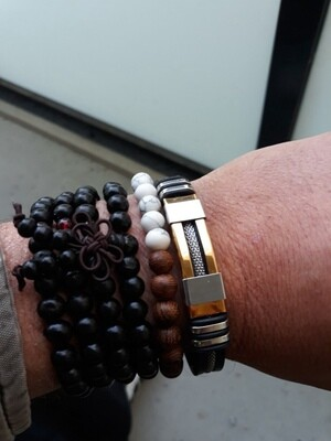 Stainless Steel Men's Wristband