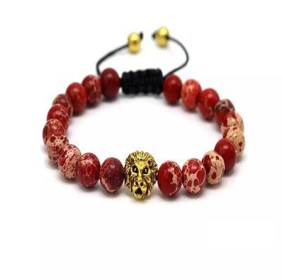 Shamballa Lion head bracelet