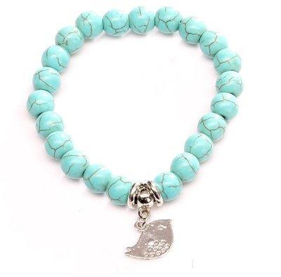 Chickie Turquois Charm Bracelet*