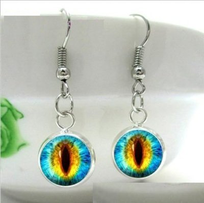 Blue/Green Eye Charm
