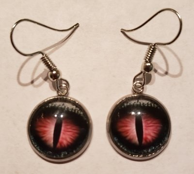 Purple/Black Crystal Eye  Earnings