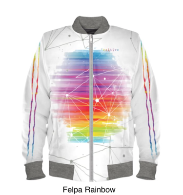 Outlet Giacca Bomber RAINBOW