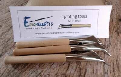3 pack of Batik Tools (Tjanting tools)