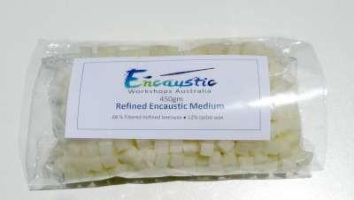 Encaustic Medium Refined (Clear) Cubes  450gms
