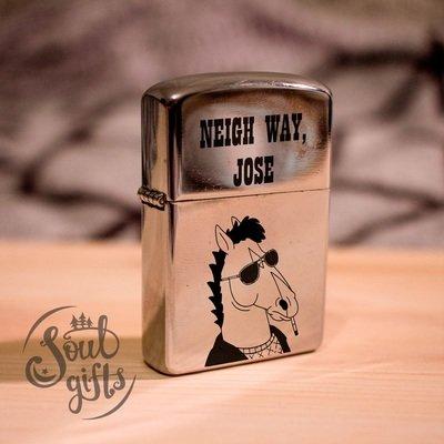 Bojack Horseman lighter /  Neigh way, Jose