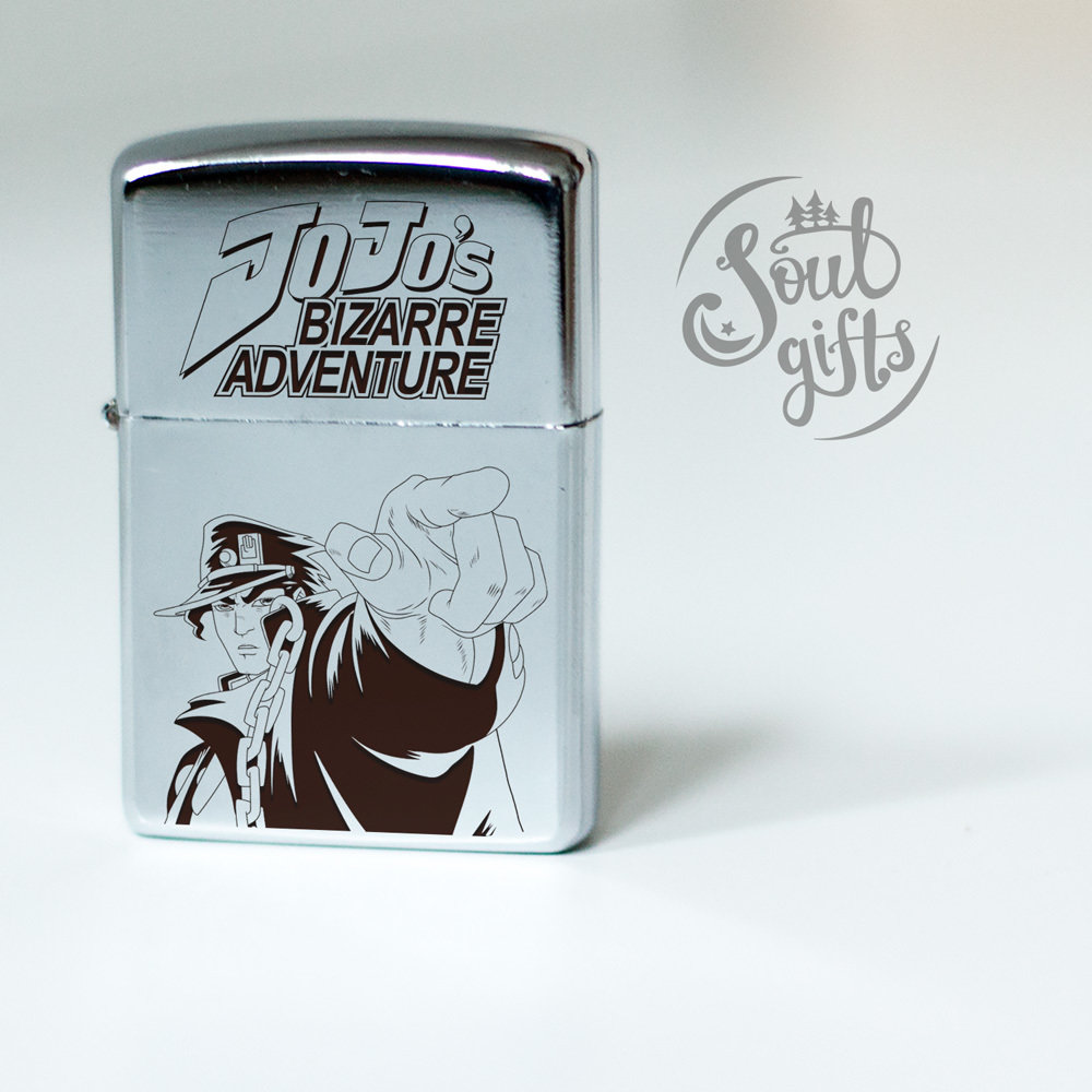 JoJo's Bizarre adventure lighter / Jotaro Kujo