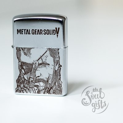 Metal Gear Solid lighter / Solid Snake / Foxhound