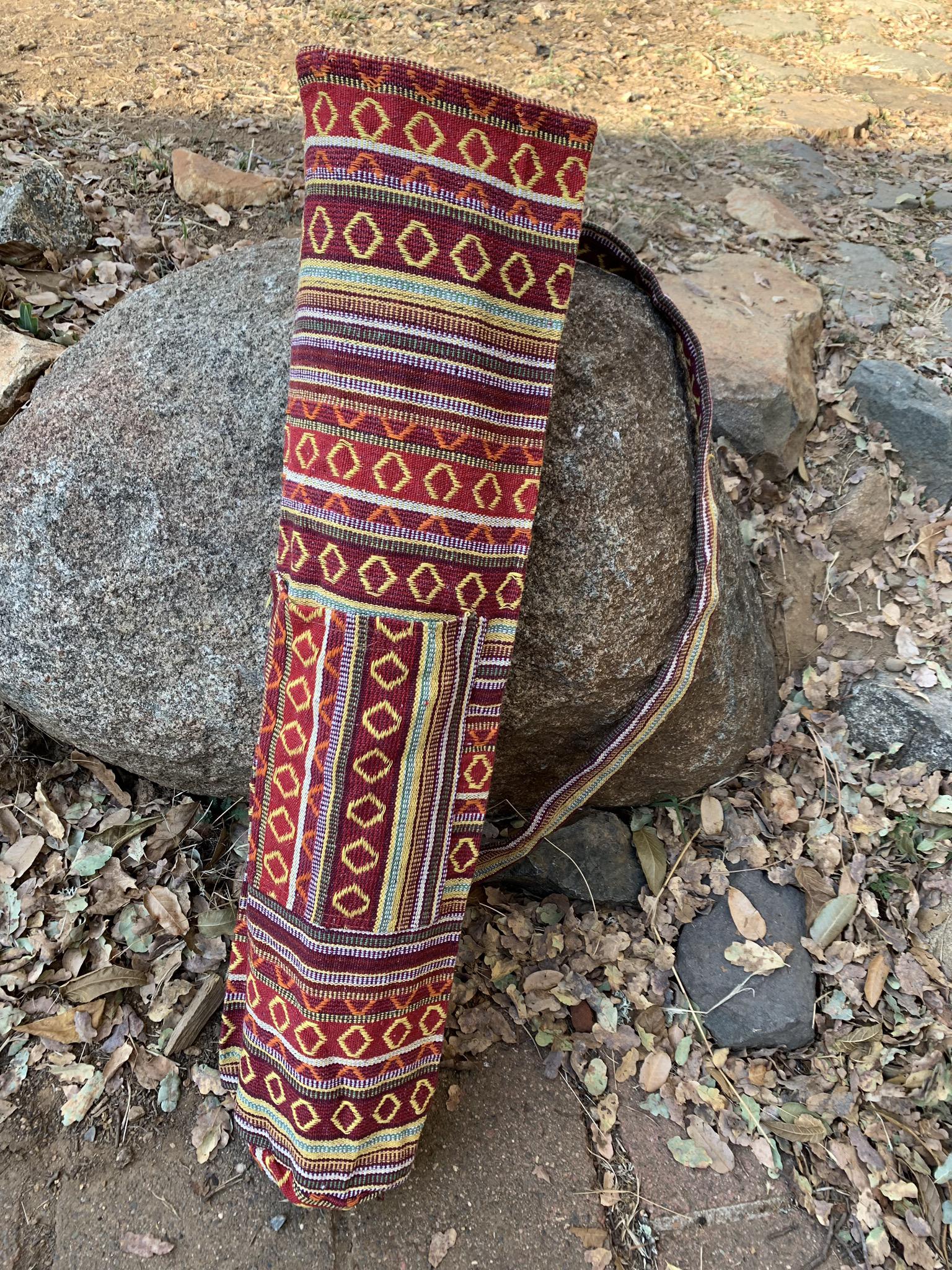 Red Yoga Mat Bag 00061