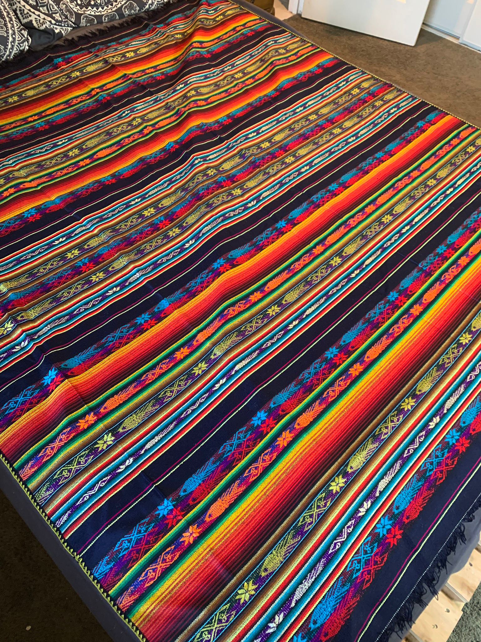 Large Mexican Tablecloth