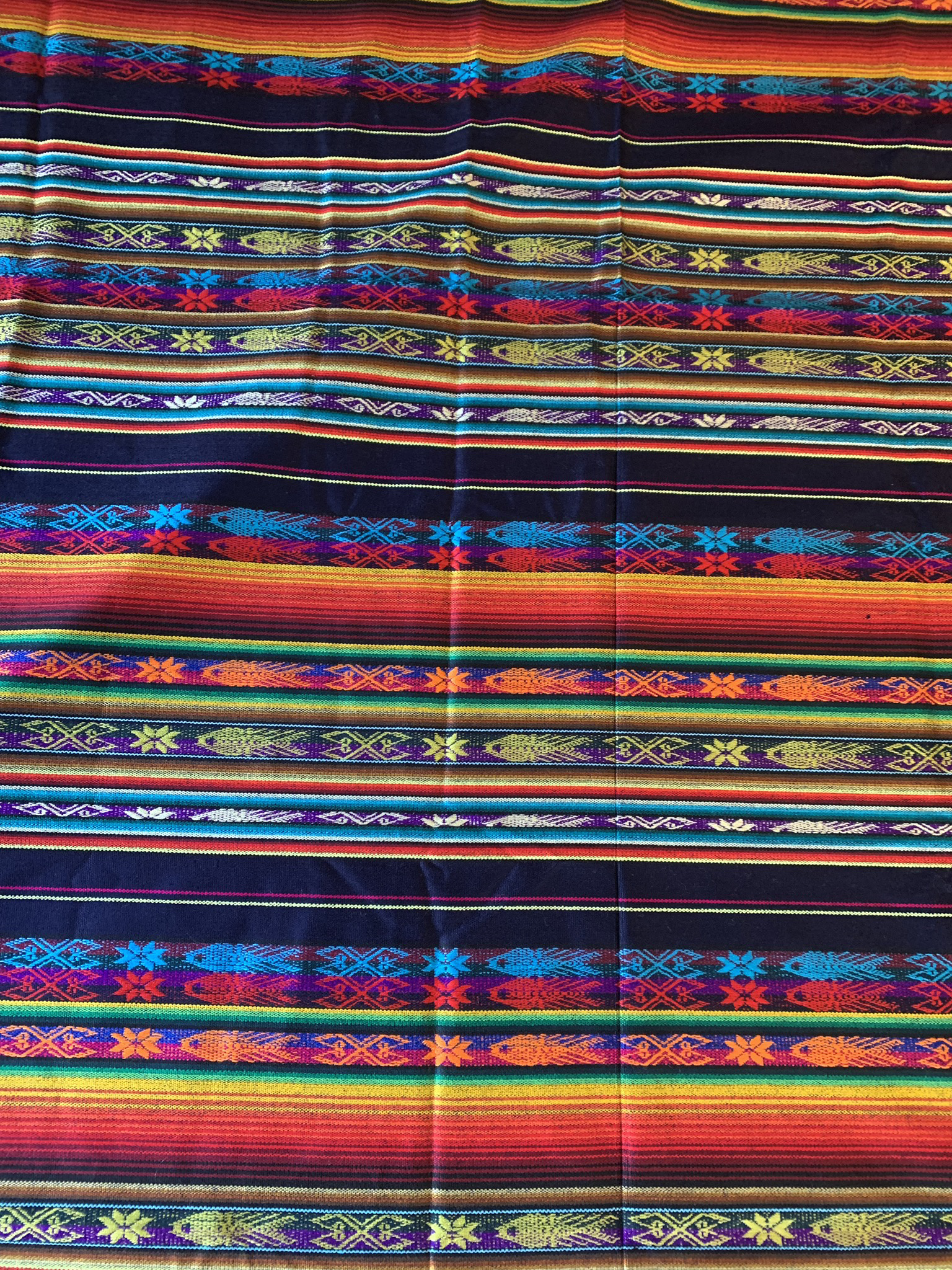 Large Mexican Tablecloth  00092