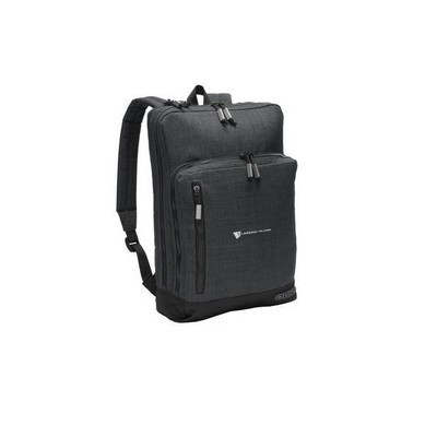 Ogio® Sly Pack Backpack - Header Gray w/ embroidered logo