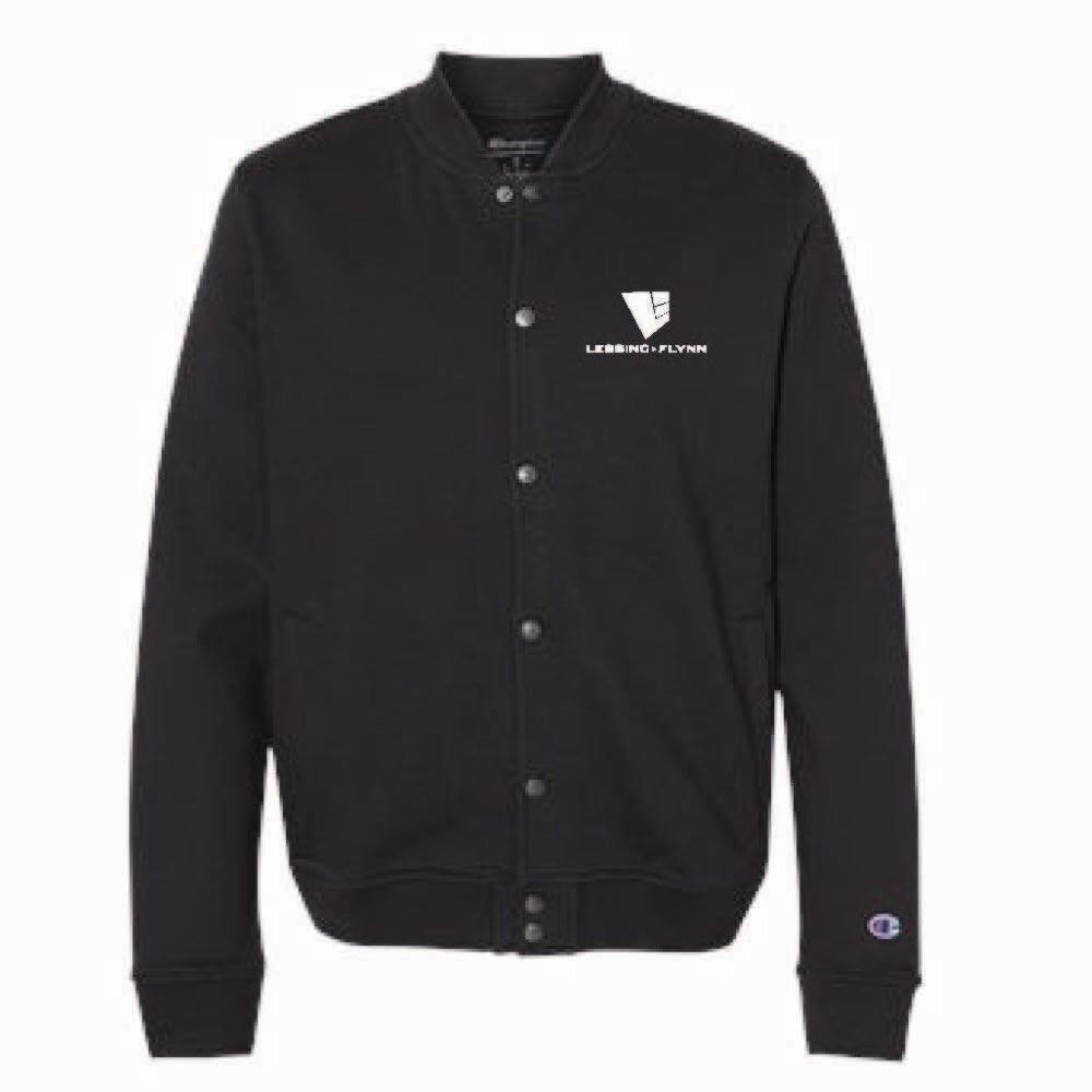 Champion Unisex Bomber Jacket w/ Embroidered Logo