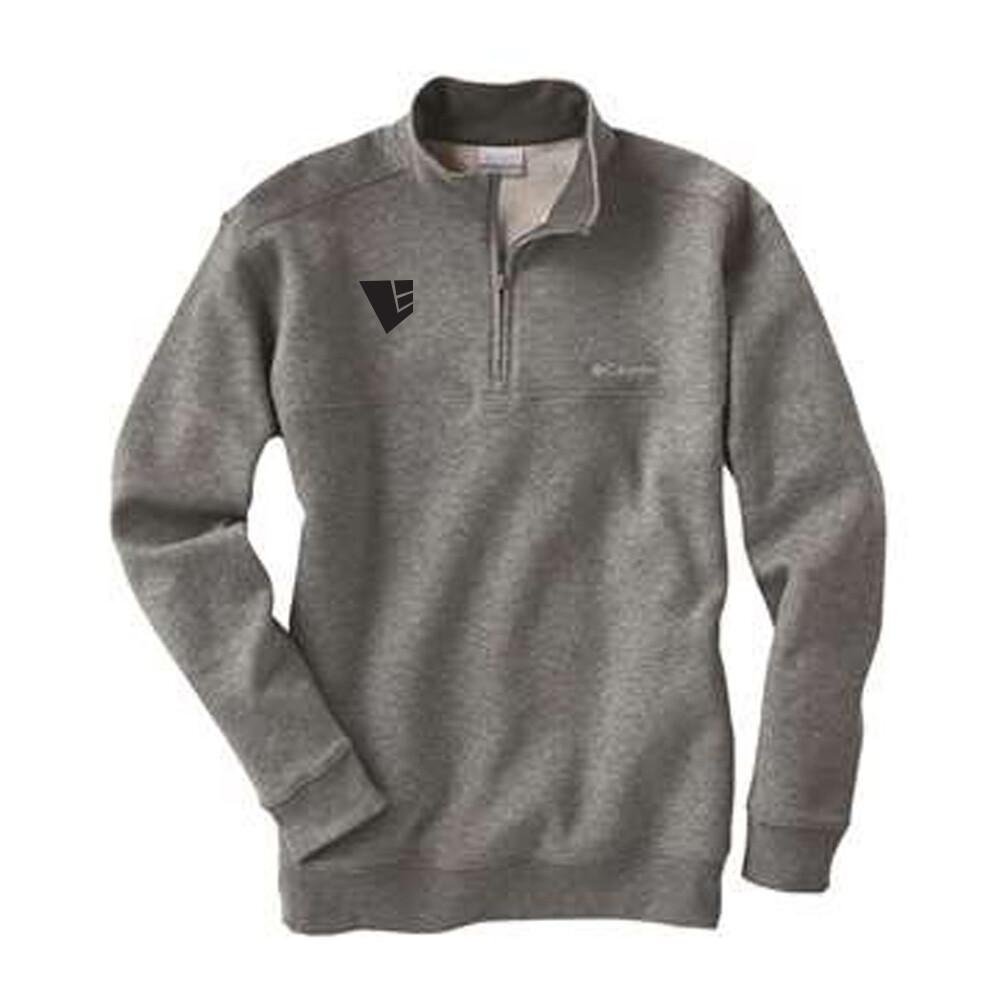 Columbia Hart Mountain Half Zip Sweatshirt w/ Embroidered Logo
