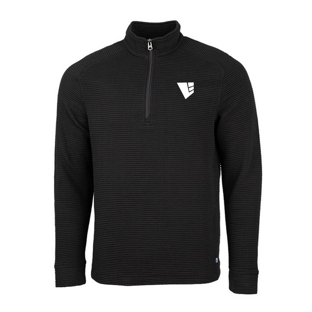 Men's Costal Half Zip w/ Embroidered Logo