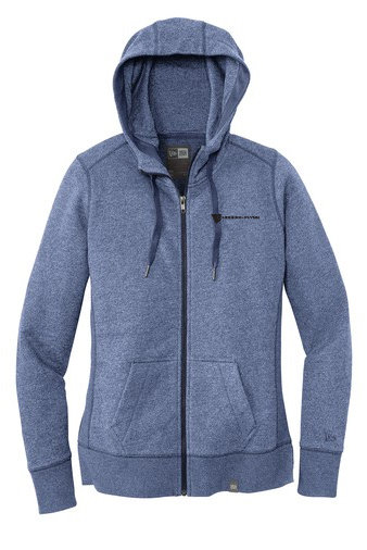 New Era® Ladies' French Terry Full Zip Hoodie