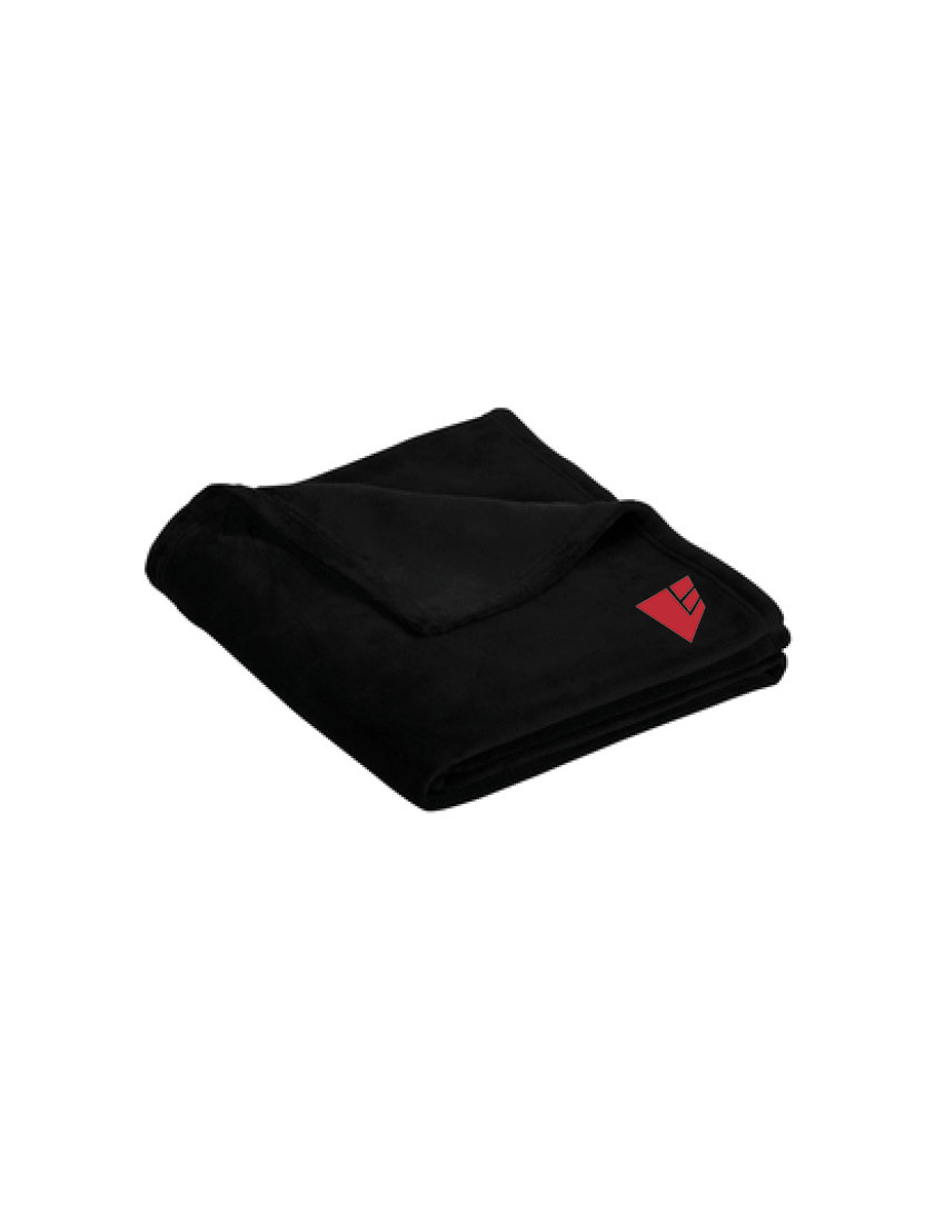 Port Authority® Ultra Plush Blanket - Embroidered