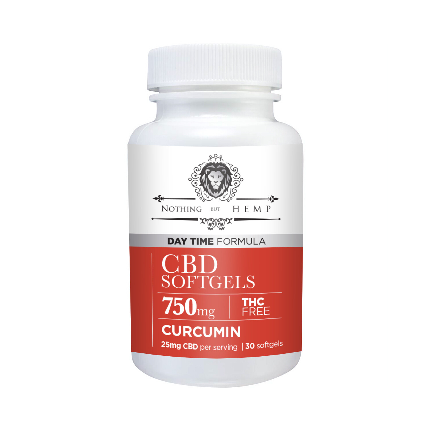 Nothing But Hemp    Capsules with Curcumin   Daytime 750MG