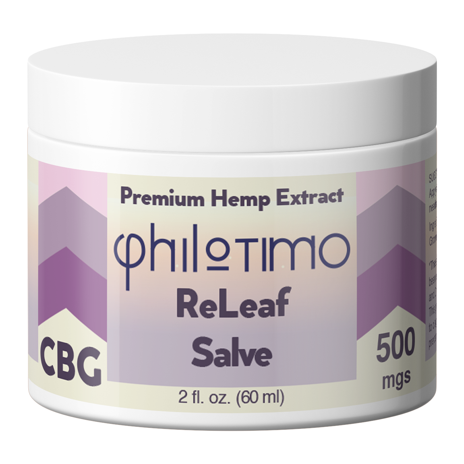 CBG ReLeaf Salve | 500MG