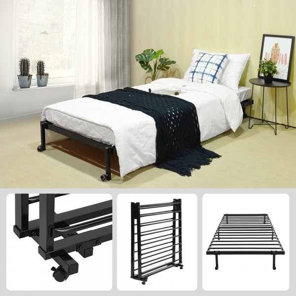 Single Bed With Wheels (LIA)