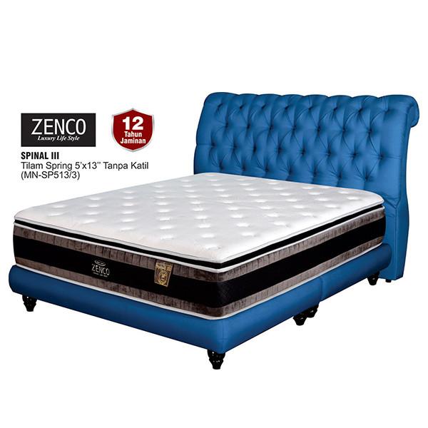 "Zenco 13"" Spring Mattress - Queen/King"