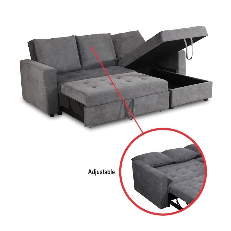 Fabric Sofa Bed (Recio)