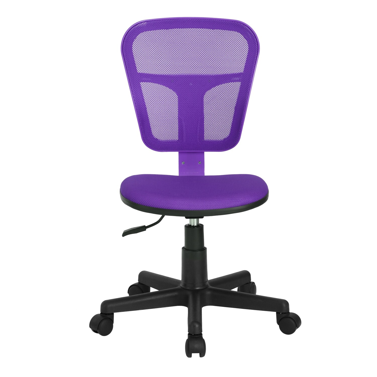 Adjustable Office Chair w/o Armrest (Flying Purple)