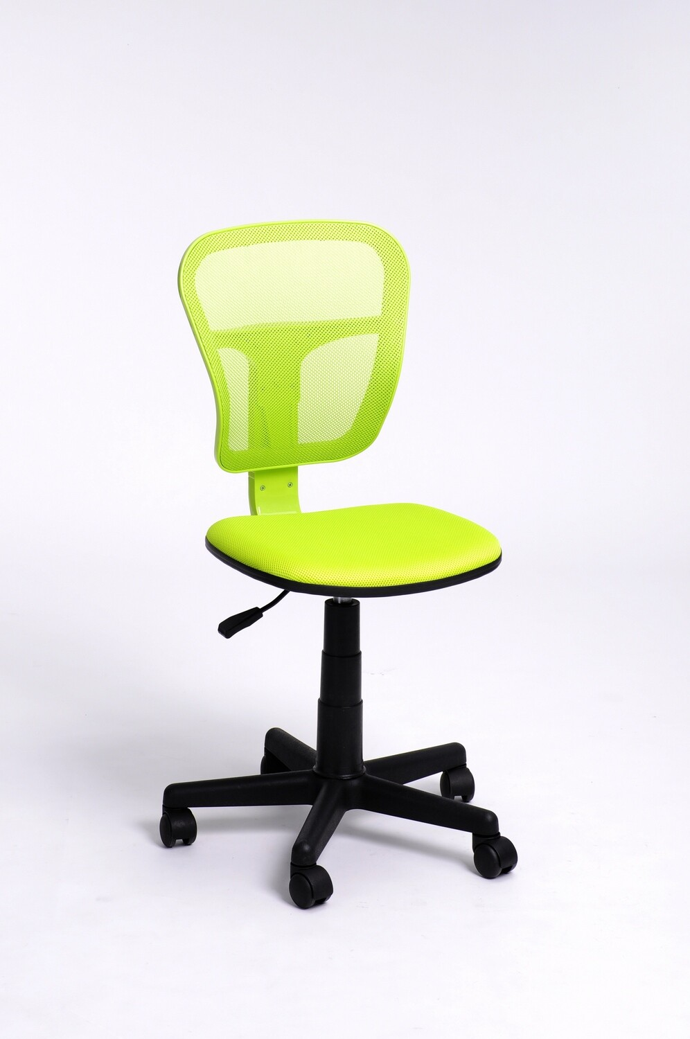Adjustable Office Chair w/o Armrest (Flying Green)
