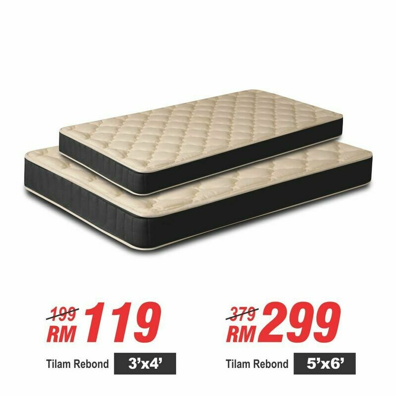 High Quality Rebond Mattress- Single Size/Queen size