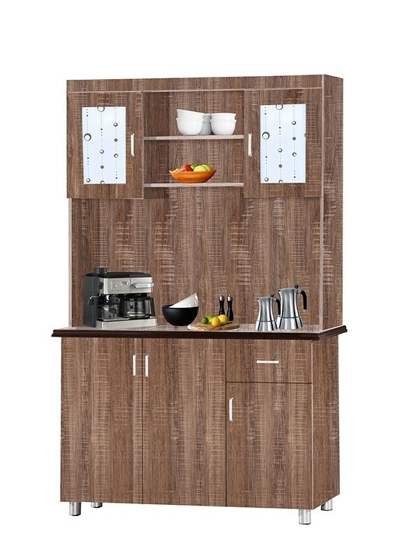 7 Doors High Kitchen Cabinet