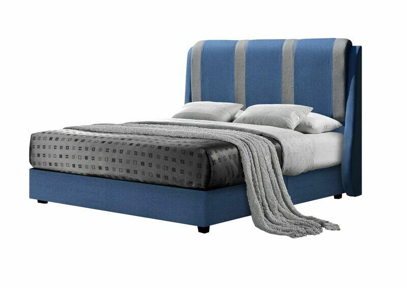 Fabric Divan Bed - Queen