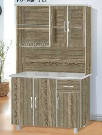 5 Doors Kitchen Cabinet with 1 drawer