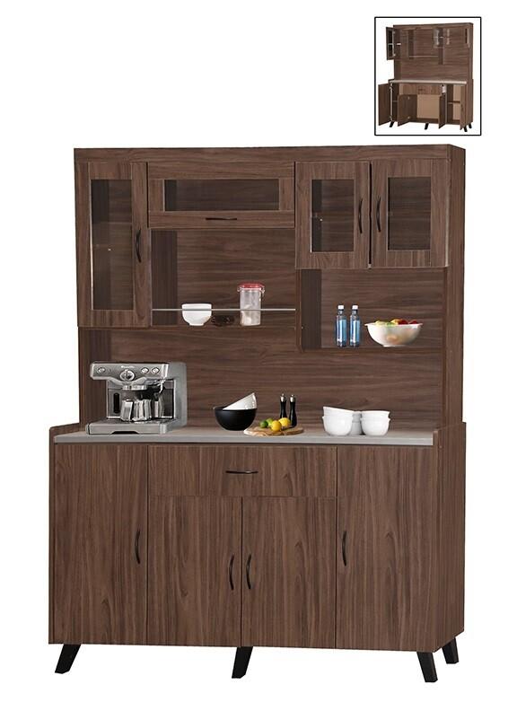 8 Door Kitchen Cabinet with 1 drawer