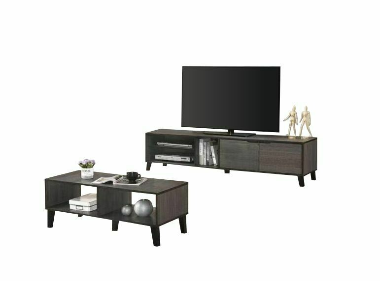 [combo] 6' Tv Cabinet + Coffee Table