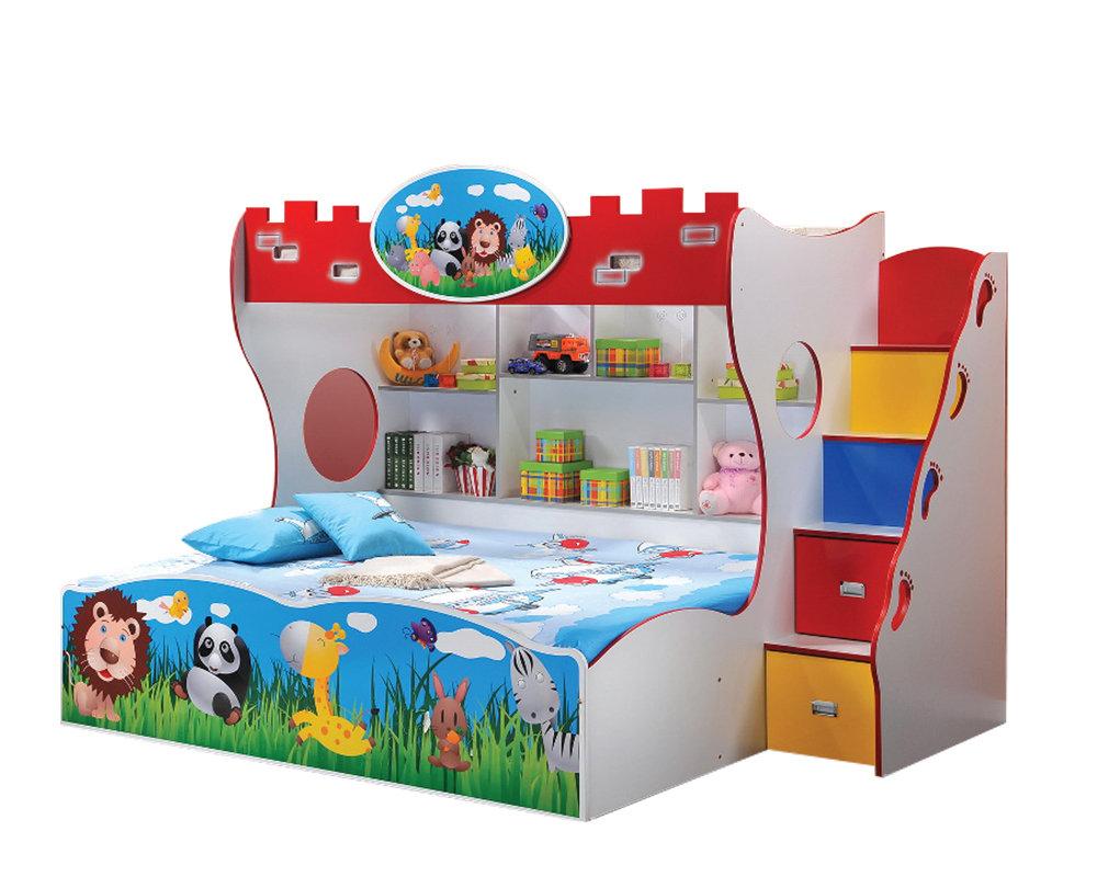 [PRE-ORDER] Children Bunk Bed with Ladder