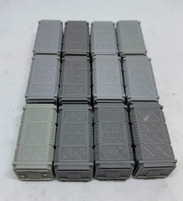Pack of (12) x 6-8mm Epically Scaled Containers