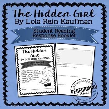 The Hidden Girl Reading Response STUDENT BOOKLET