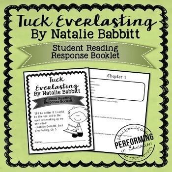 Tuck Everlasting Printable Student Booklet