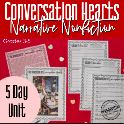 Narrative Nonfiction Valentine's Day Writing Unit